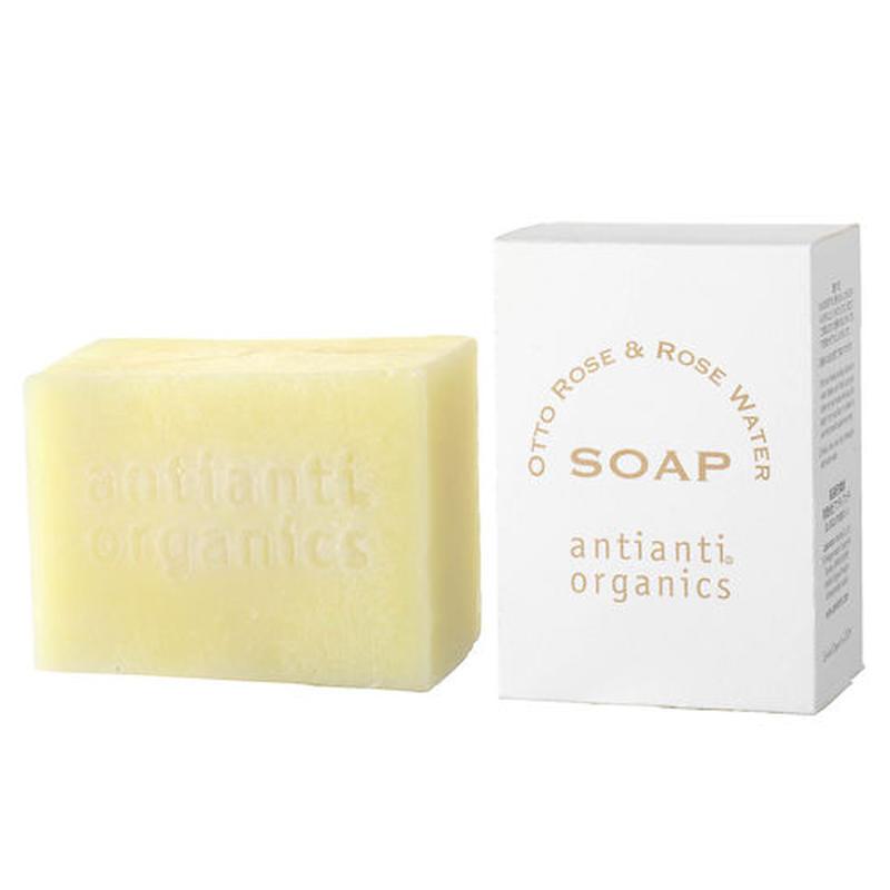 Organic Otto Rose & Rose Water Soap (Facial Bar Soap)100g