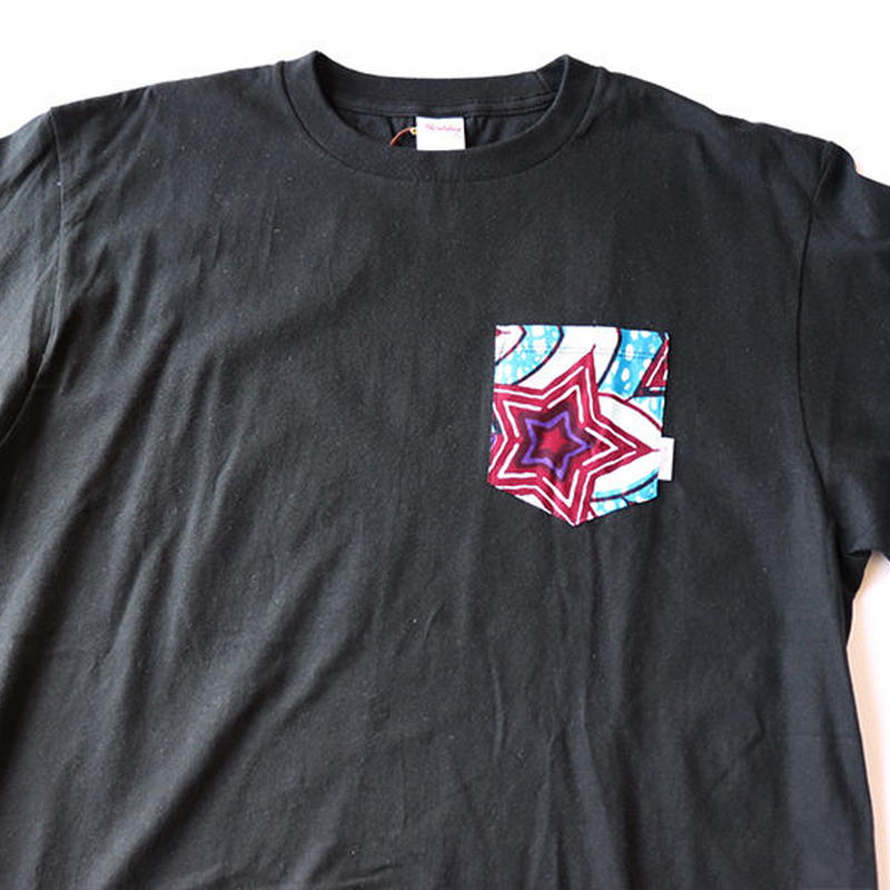 Africanpocket Tshirt-L《HITODE》