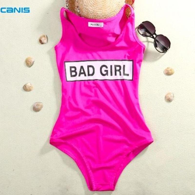 【予約商品】BAD GIRL PINK SWIM WEAR