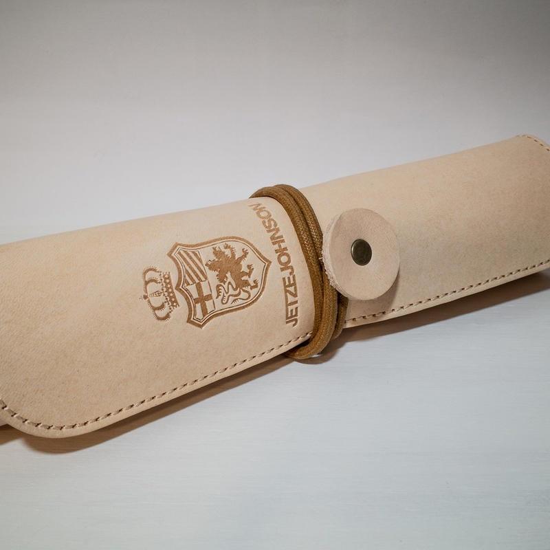 【イタリア本牛革製】公式ペンケース