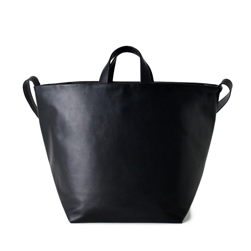 LE15 / COW KIP LEATHER  SHOULDER TOTE M