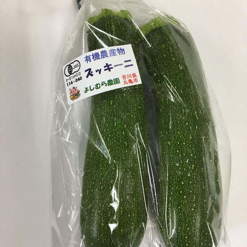 有機ズッキーニ(緑)