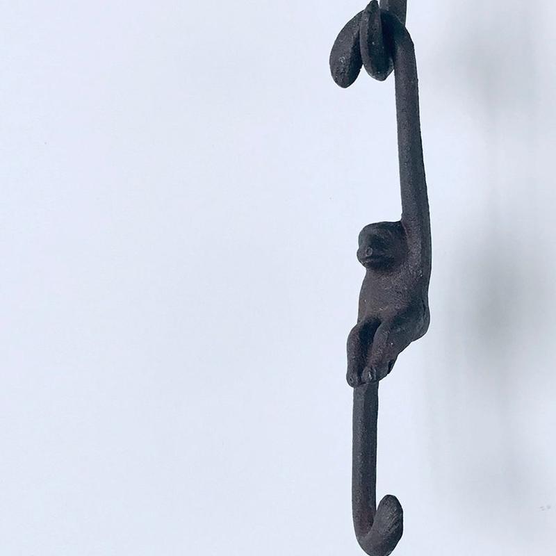 no485    猿のアイアンフック
