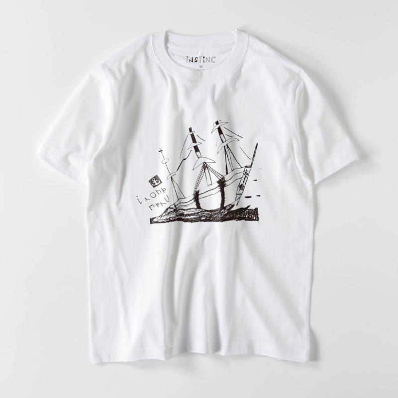 SATSUMA 伊呂波丸 Tシャツ(ホワイト XS/S/M/L/XL/XXL)
