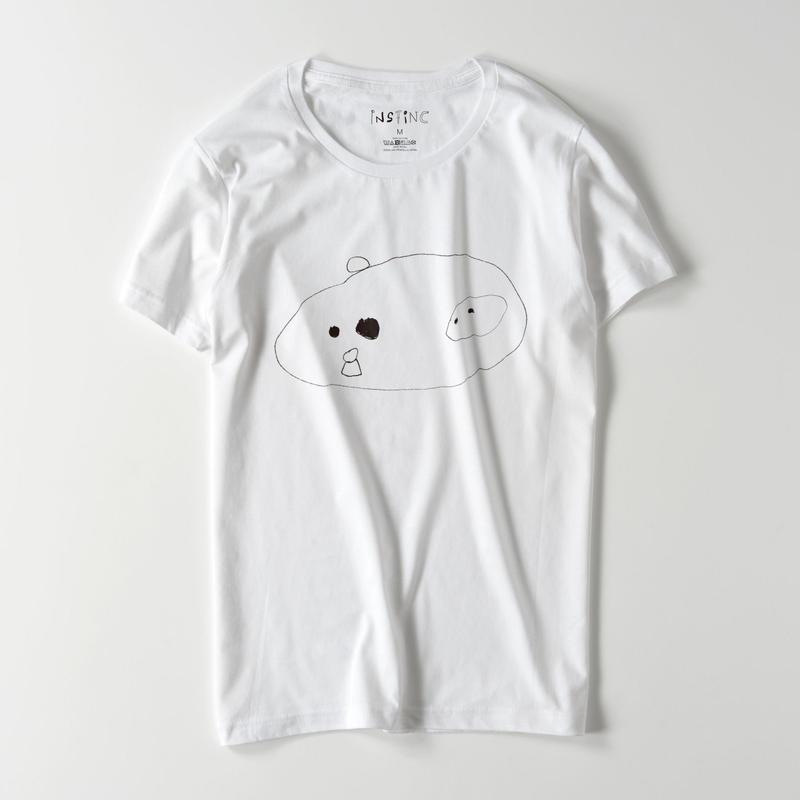ピヨ ライトウェイトスリムTシャツ(ホワイト S/M/L/XL/XXL)