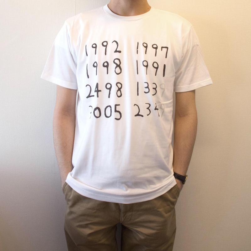きっと意味のある数字Tシャツ(ホワイト S/M/L)