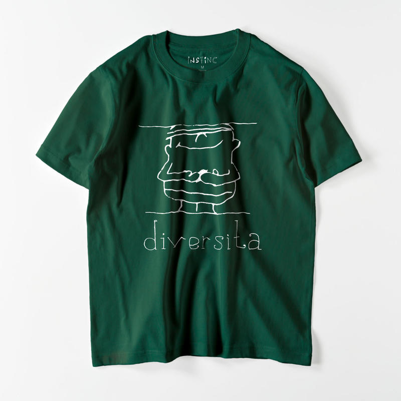 diversita Tシャツ(11color XS/S/M/L/XL/XXL)