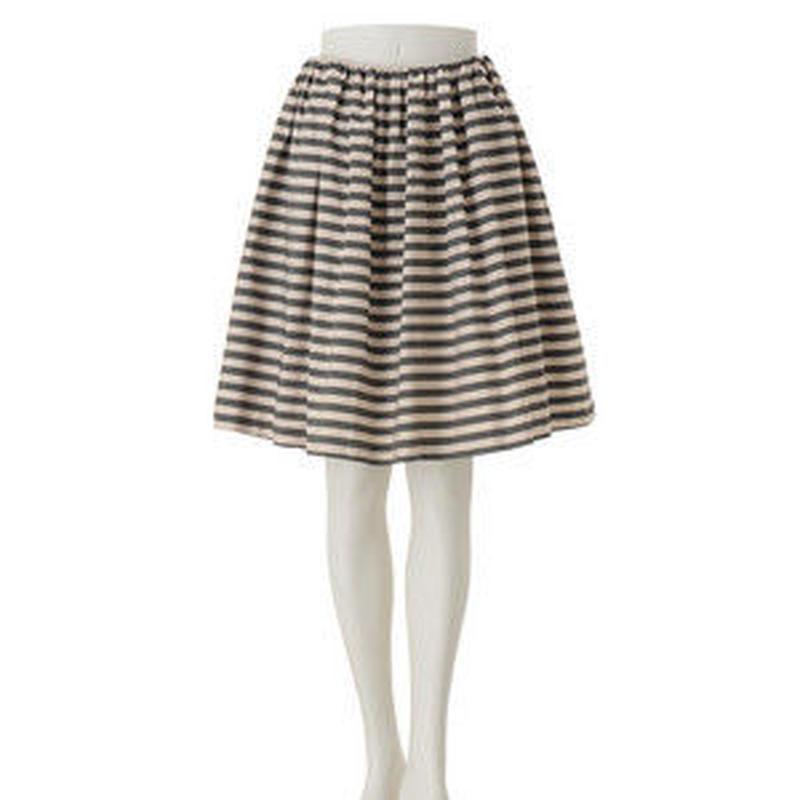 #先染めメモリー ボーダースカート #ボーダー#スカート#オシャレ