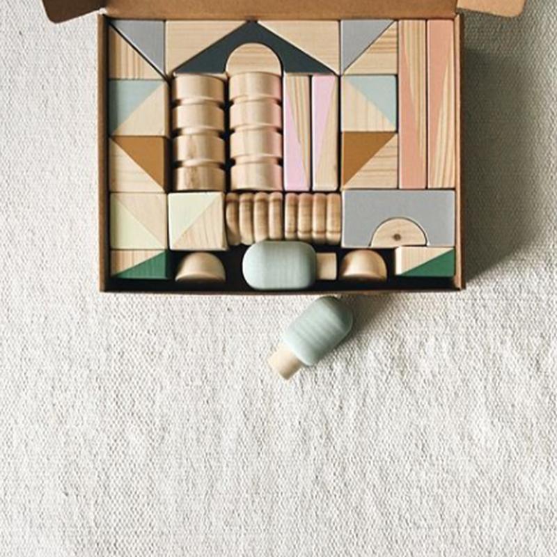 Wooden Blocks Set (30pcs) / mysoulmateplace