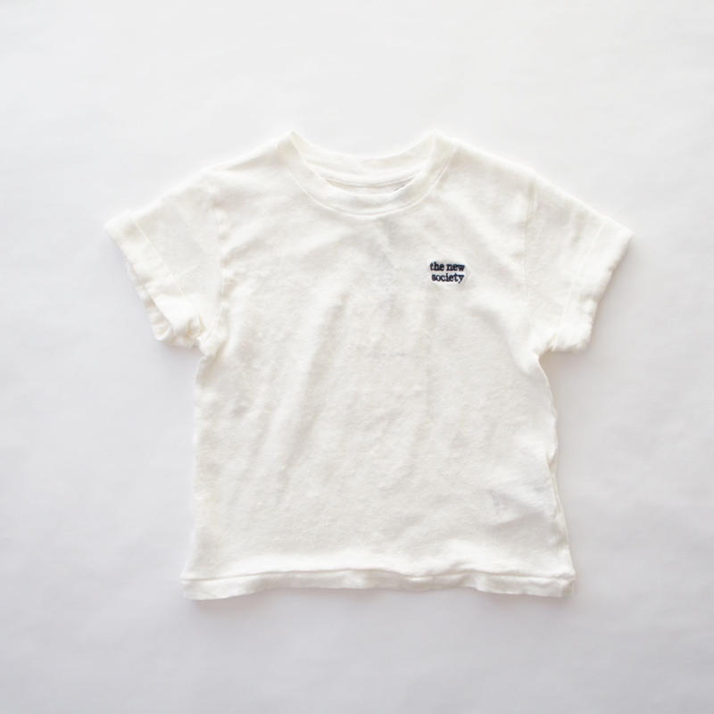 Logo short sleeve T-shirt / the new society
