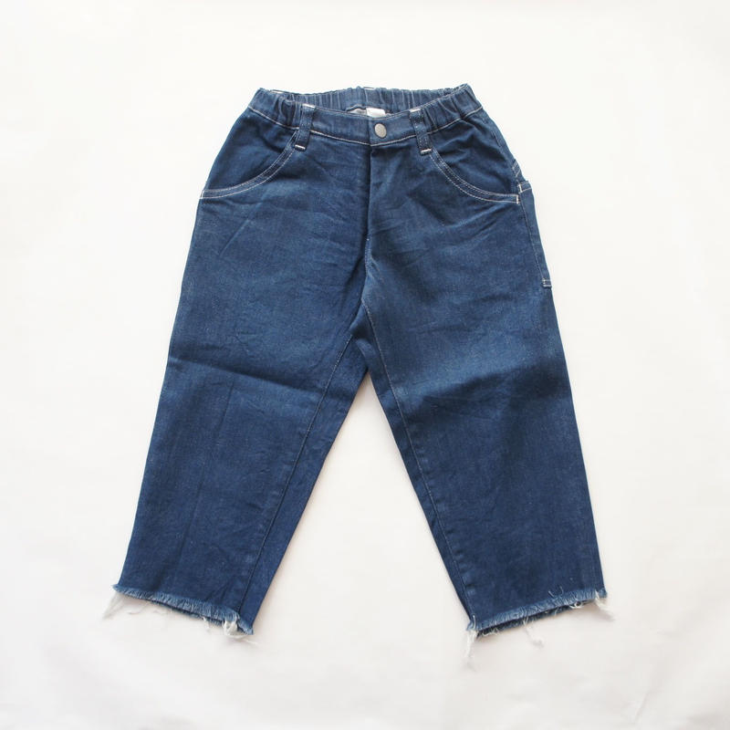 Wide Cropped Denim (blue/125.140) / MOUN TEN.