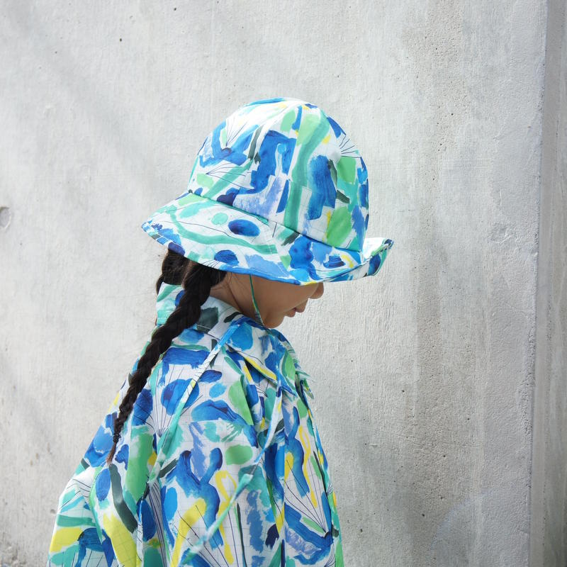 RAIN HAT & COAT ( JULY )  //  Coci la elle