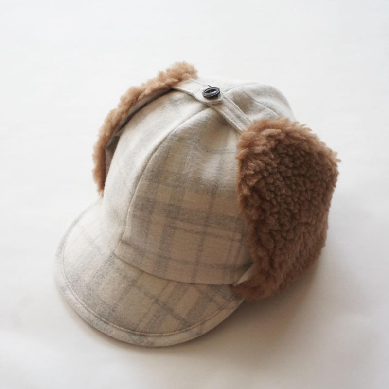 Flight Cap (white) / EAST END HIGHLANDERS