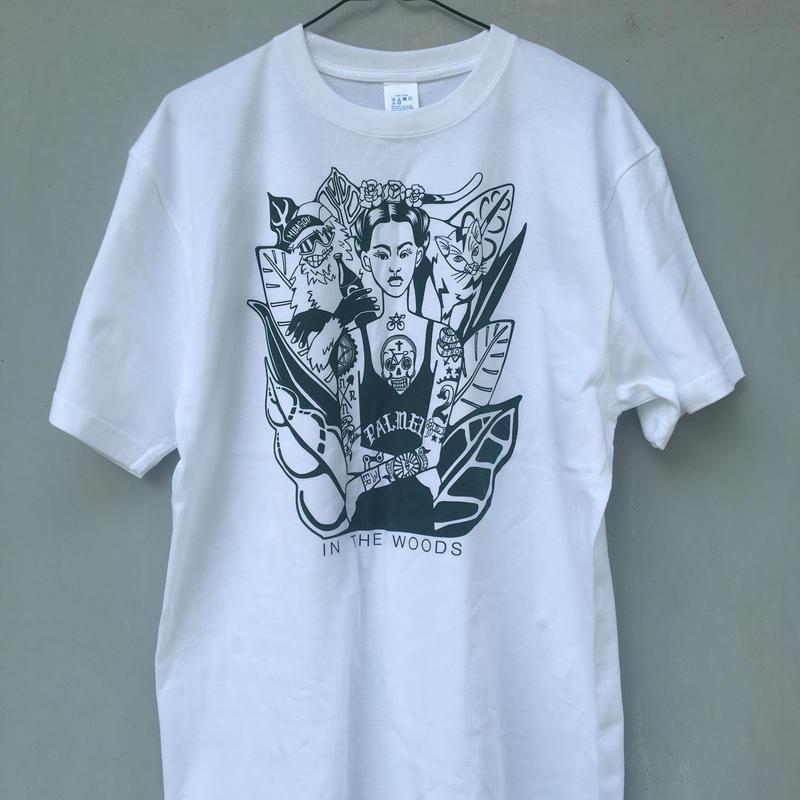 バイシクルタトゥーの女のTシャツ