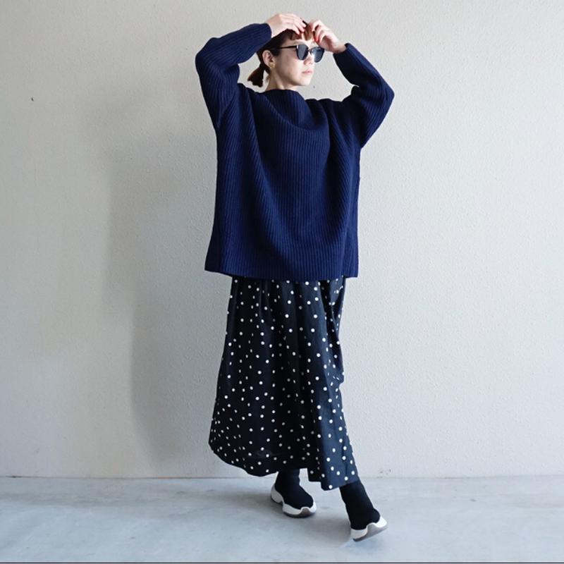 【予約終了】thomas magpie long skirt dots