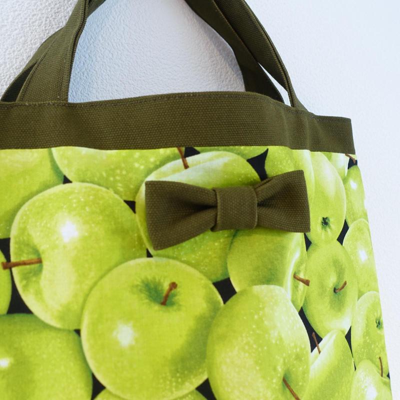 【オンラインストア限定】small tote green apple