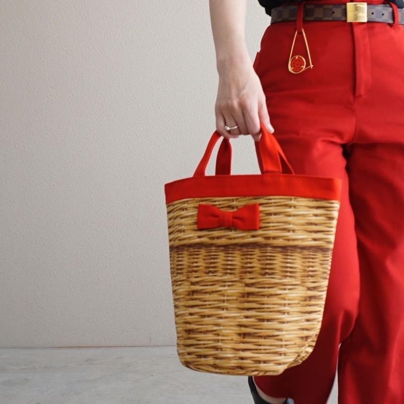 【限定色】mini penelophia fake basket red
