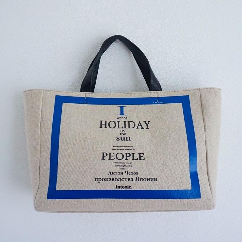 【予約終了】holiday canvas daily tote