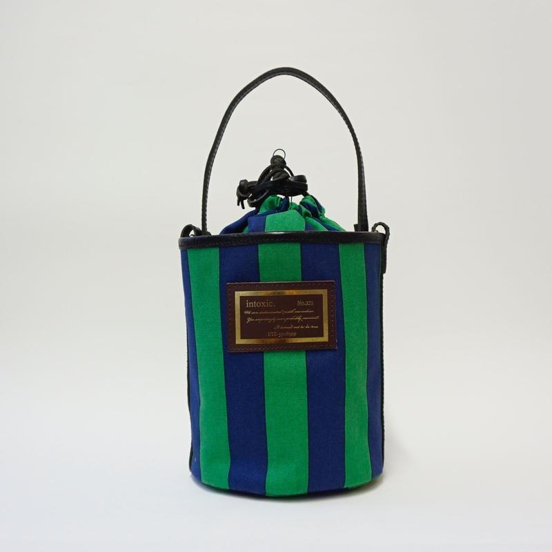 ALEX  regimental stripe green