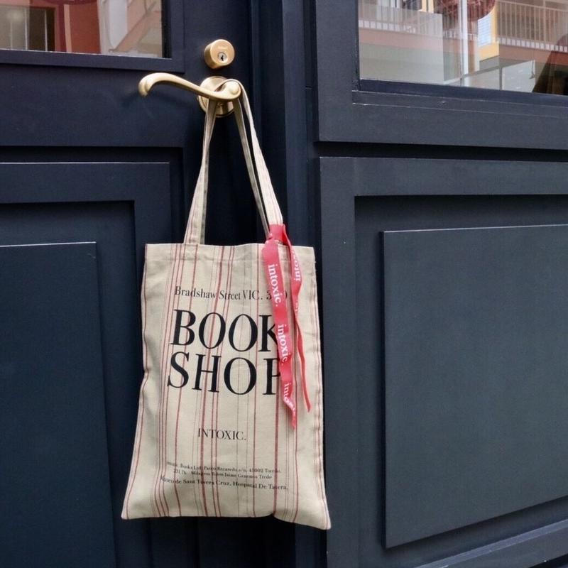 book shop  girl beige