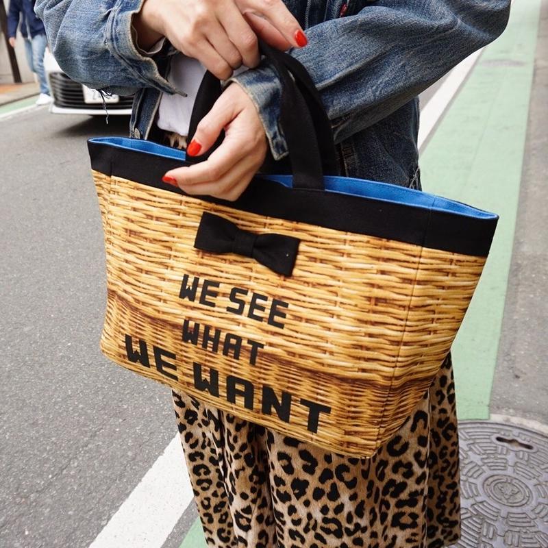 【新作】town mini fake basket logotip