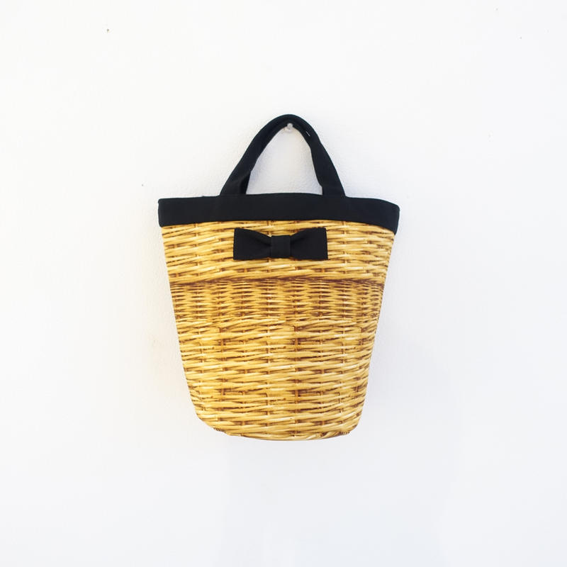 mini penelophia fake basket black