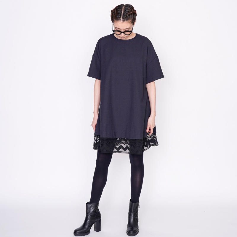 【予約終了】thomas magpie mini dress black