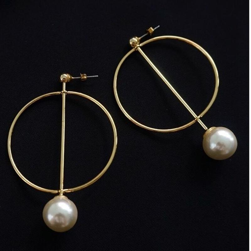 perl ring earring