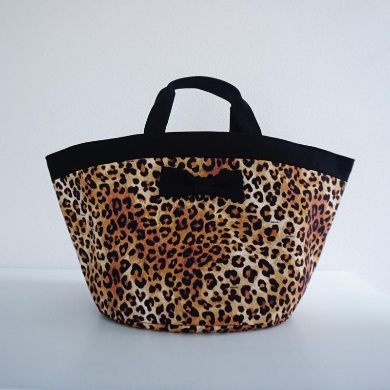 【春夏新作】marche mini intoxic. original textile leopard