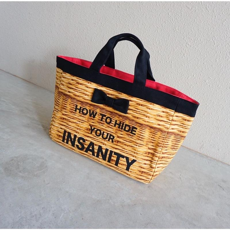 town mini tote fake basket special model
