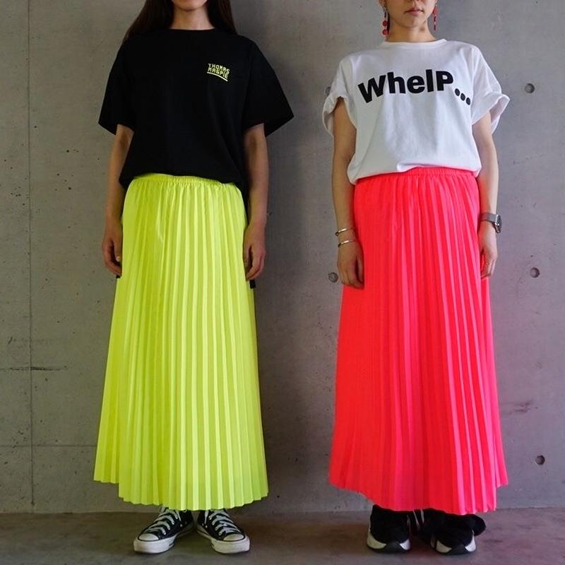 予約終了【先行予約】long pleated skirt (2193602)