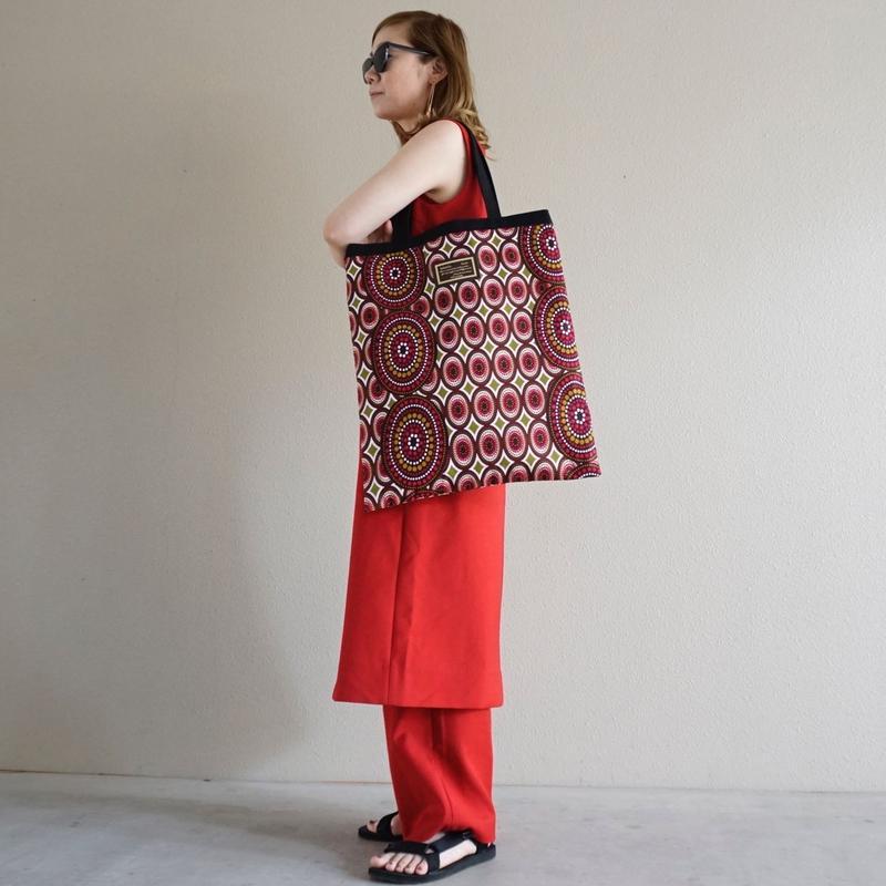 【オンライン限定】afrotek big tote red(E)