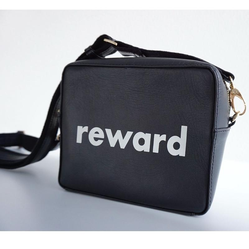 "【RESONATES】new leather line ""REWARD"""