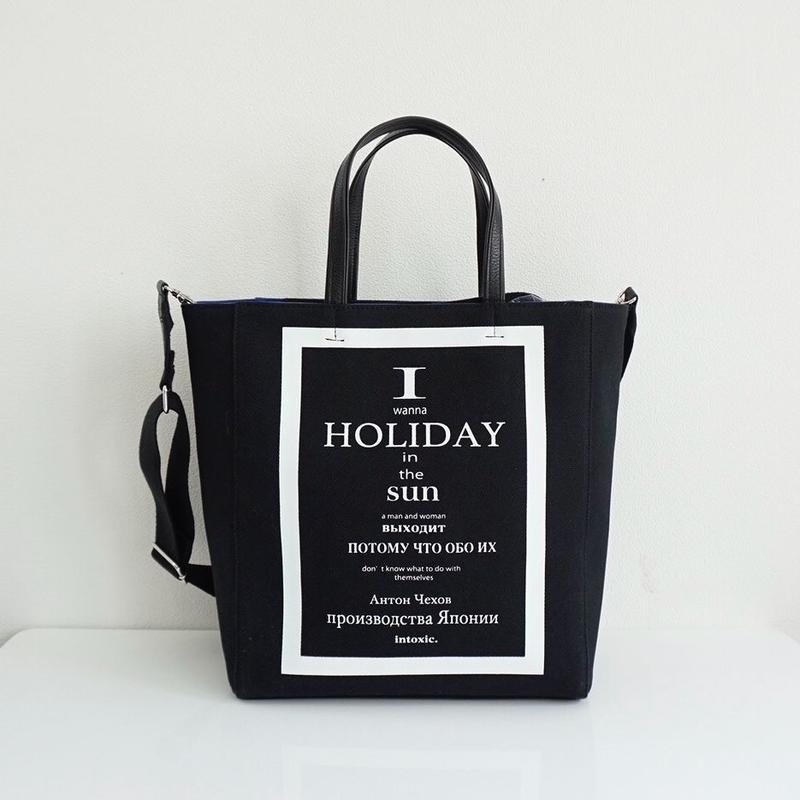 【先行予約】HOLIDAY LP record tote black