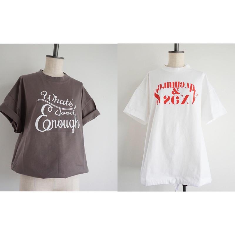 【春夏新作】thomas magpie crew neck pullover short t-shirt logo