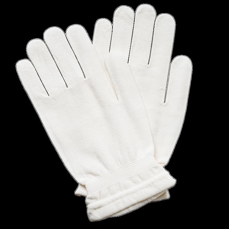 シルクグルーミング手袋