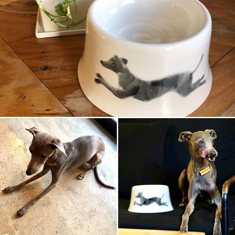 いぬのお碗 A * オーダーメイド /  Dog Bowl A * Custom Made