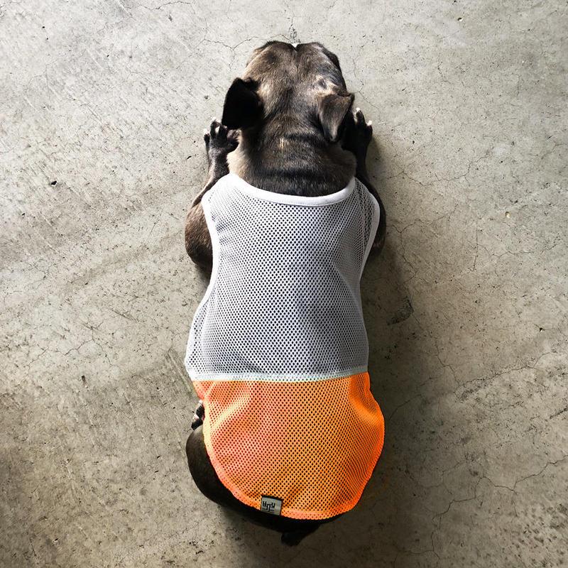 メッシュの羽織 (薄墨)/  Mesh Vest (Gray )