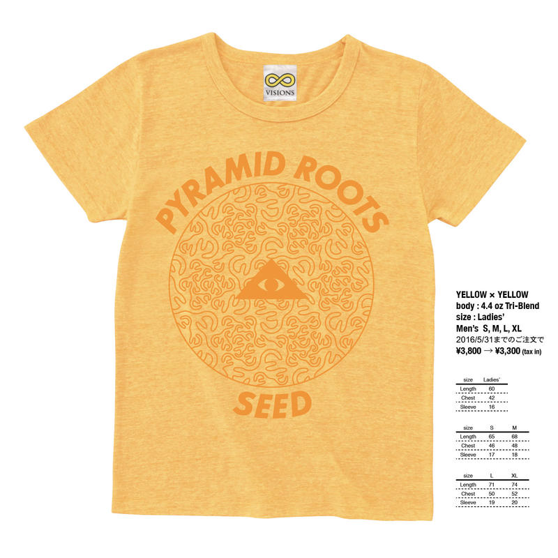 "PYRAMID ROOTS ""SEED"" / YELLOW × YELLOW"