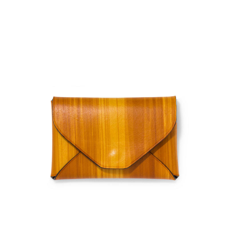 """ LETTER FROM "" Card case S / Brush Brown"