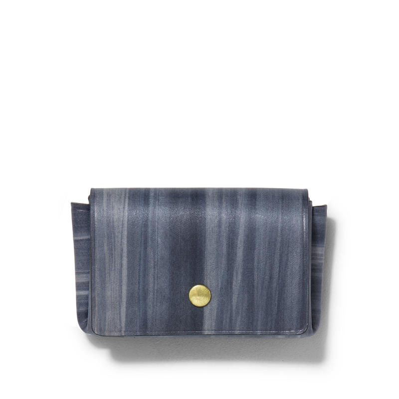 """ ORIGAMI WALLET "" Minimal / Brush Gray"