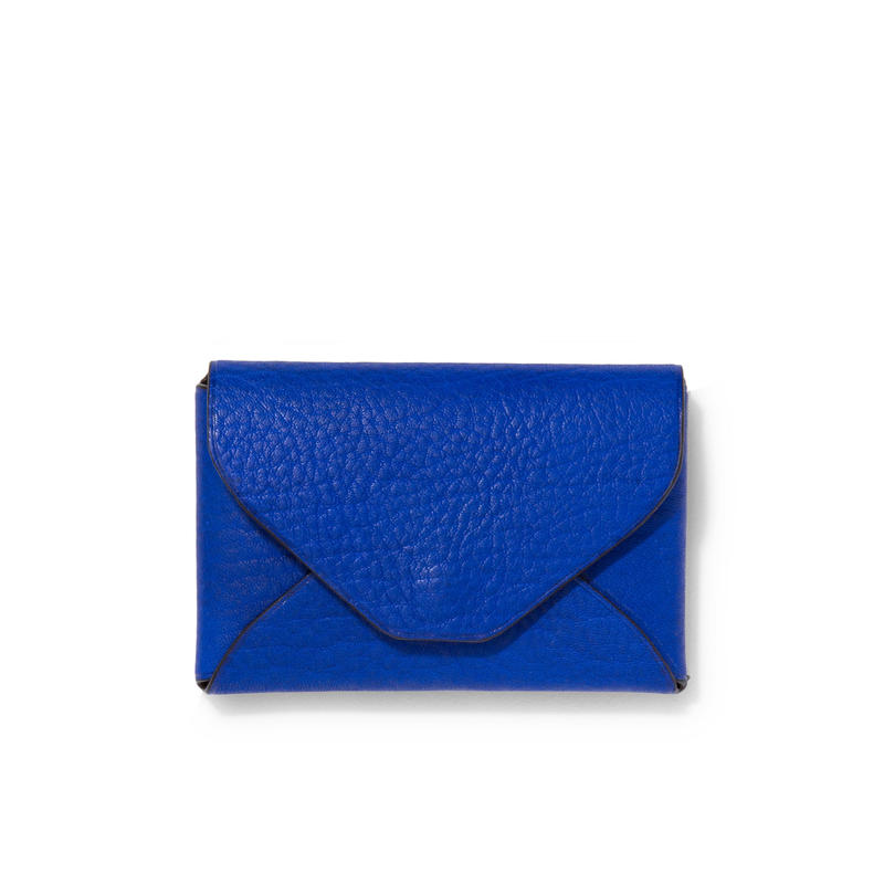 """ LETTER FROM "" Card case S / Blue"