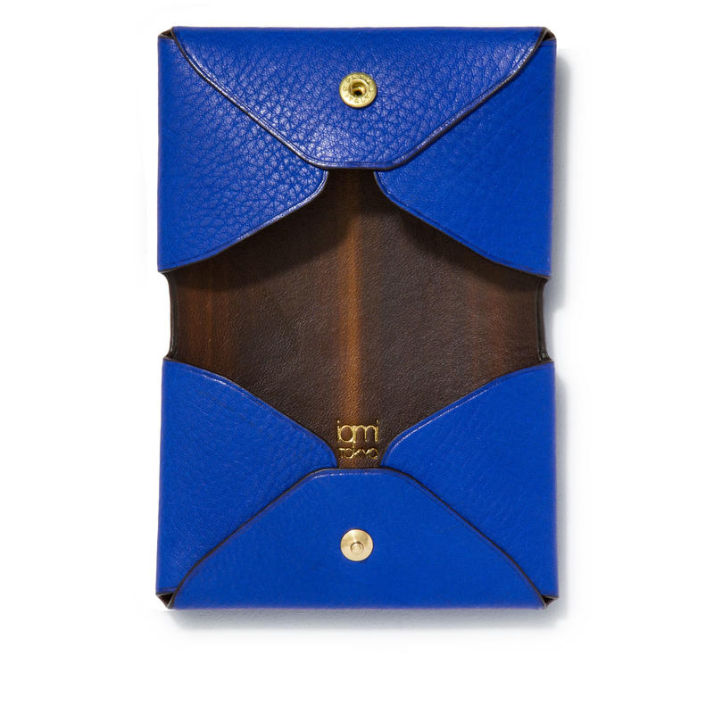 """ LETTER FROM "" Card case D / Blue"