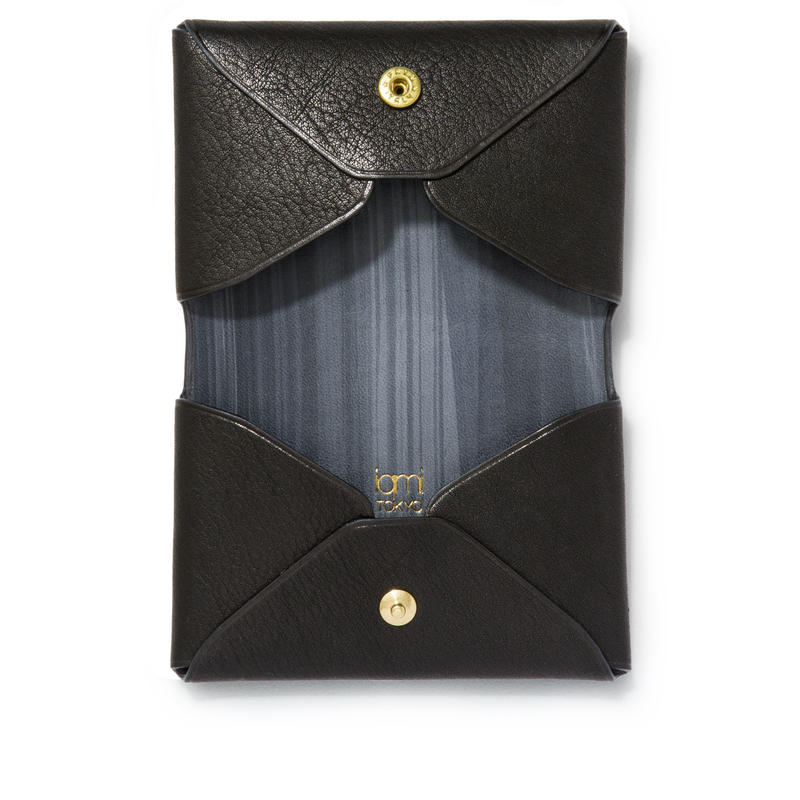 """ LETTER FROM "" Card case D / Black"