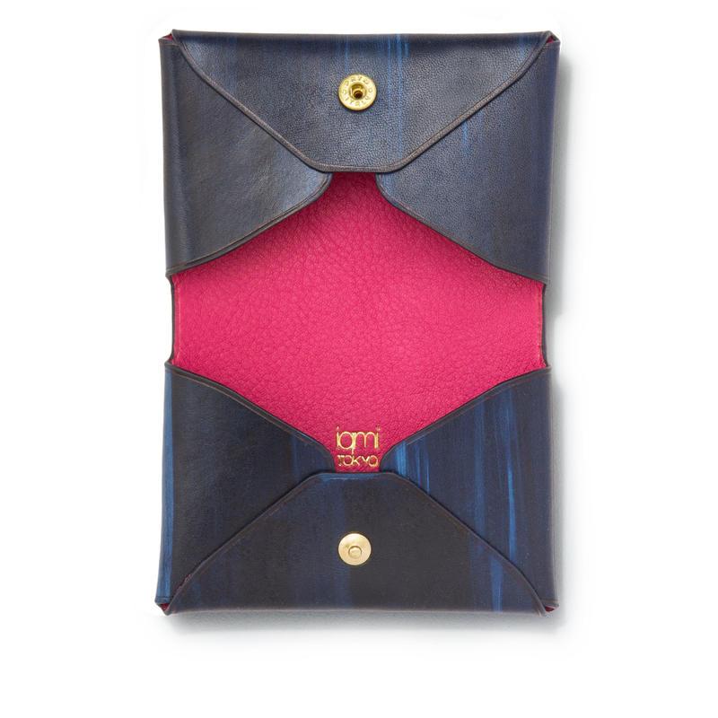 """ LETTER FROM "" Card case D / Brush Navy"