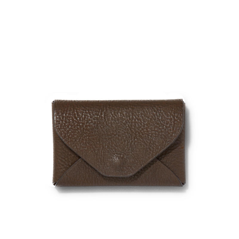 """ LETTER FROM "" Card case S / Dark Brown"