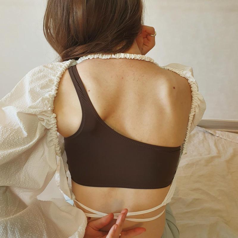 Back designed tops