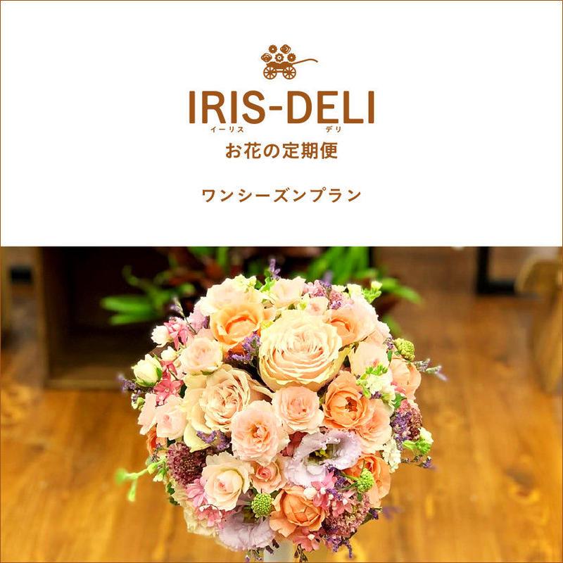 お花の定期便 IRIS-DELI(ワンシーズンプラン)