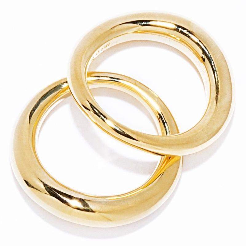 W warp ring / gold