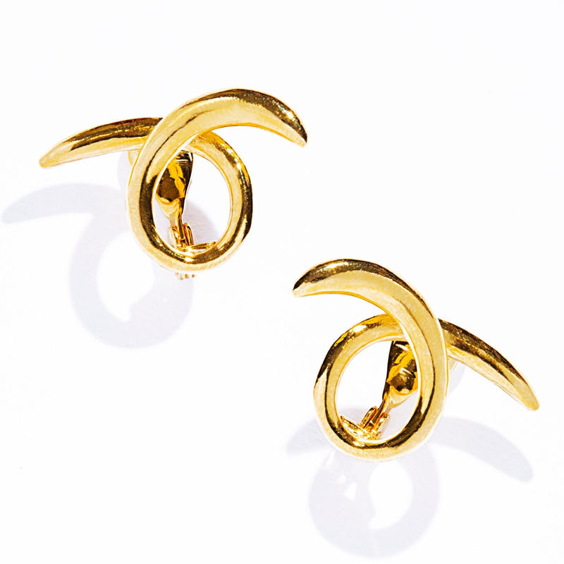 toge earring / silver,gold